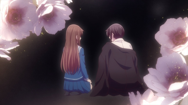 Tohru and Akito from the anime series Fruits Basket The Final Season