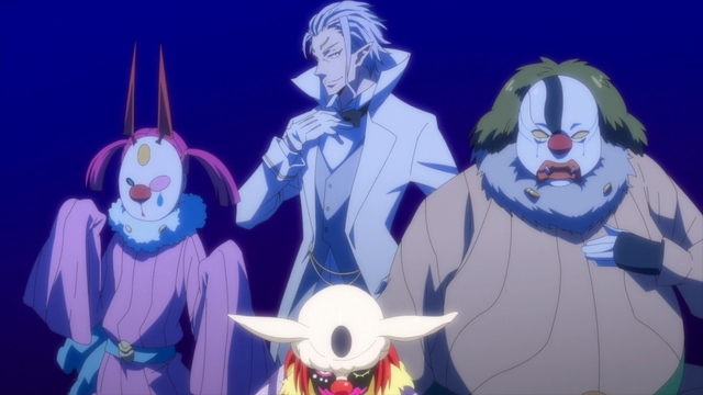The Moderate Harlequin Alliance from the anime series That Time I Got Reincarnated as a Slime Season 2 Part 2