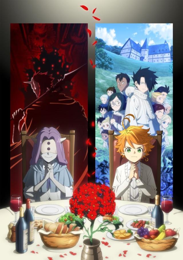 The Promised Neverland 2nd Season anime series cover art
