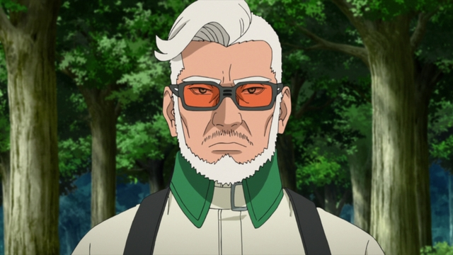 Amado from the anime series Boruto: Naruto Next Generations