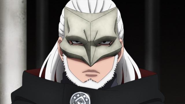 Koji Kashin from the anime series Boruto: Naruto Next Generations