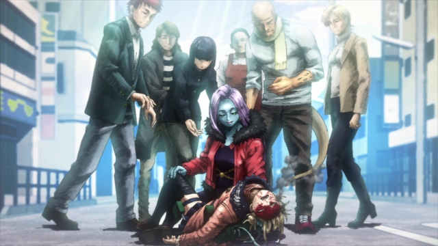 Himiko defeated by Curious from the anime series My Hero Academia Season 5