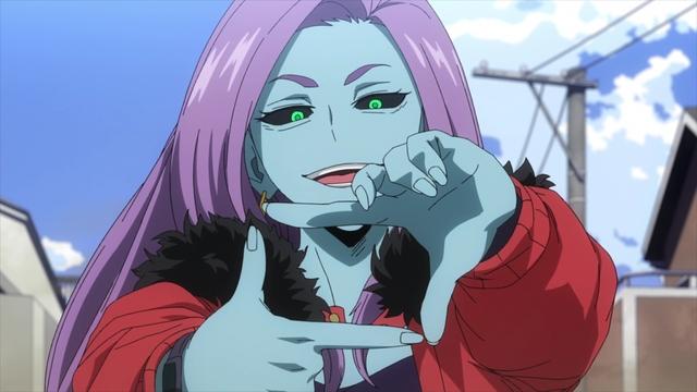 Chitose Kizuki (Curious) from the anime series My Hero Academia Season 5