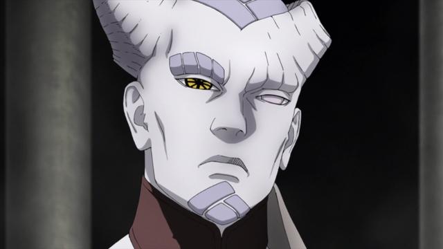 Isshiki Ōtsutsuki from the anime series Boruto: Naruto Next Generations