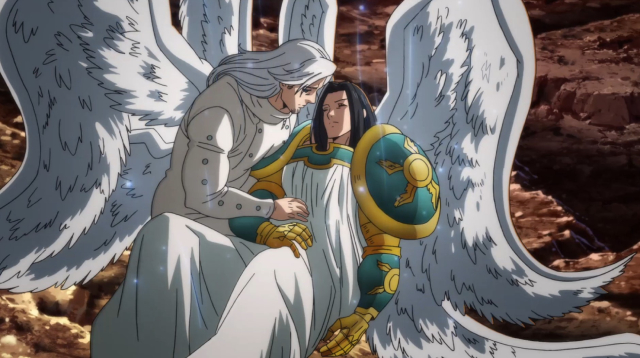Mael and Ludociel from the anime series The Seven Deadly Sins: Dragon's Judgement