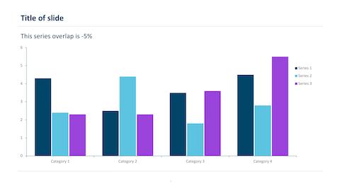 blue and purple bar chart