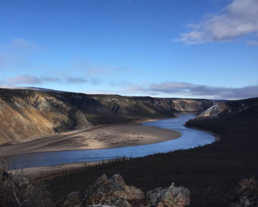 Porcupine-River-Ramparts