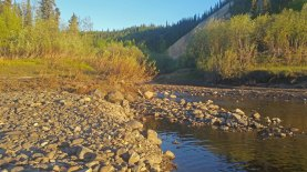 Porcupine-River-midnight-sun