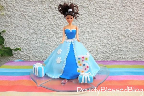 Prinzessinnen Kuchen als Geburtstagskuchen