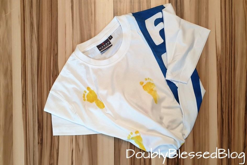 Geschenk basteln zum Vatertag - T-Shirt