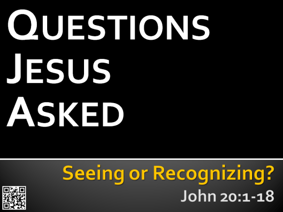 Session 5 - Seeing or Recognizing