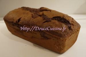 Marbré chocolat-vanille