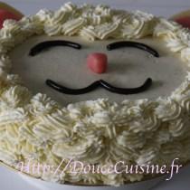 Sponge cake et sa ganache montée à la vanille