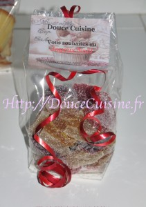 Sachet de pâtes de fruits