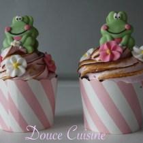 Cupcakes sans lactose.