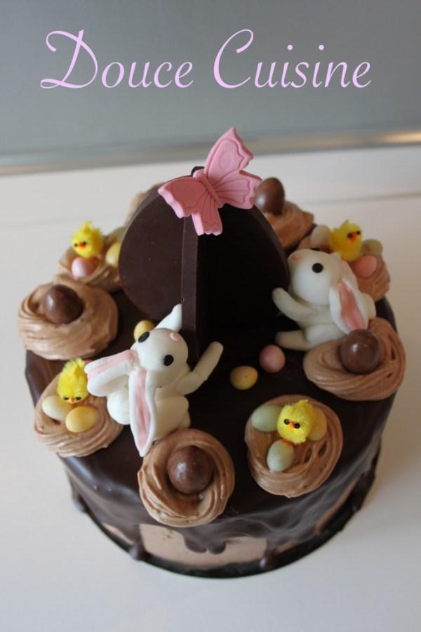 Layer Cake de Pâques.