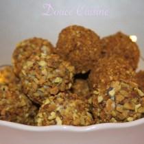 Truffes au chocolat blanc et pistache de Pierre Hermé