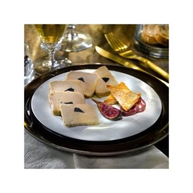 Bloc foie gras truffé