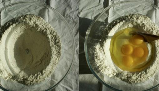 Gâteau moelleux à la poire 梨子蛋糕 - Creuser un puits 挖一個洞