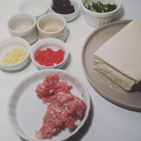 豆瓣蒸豆腐 Douban Zheng doufu, Tofu vapeur au douban