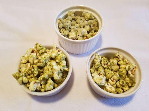 Popcorn au Matcha 抹茶爆米花