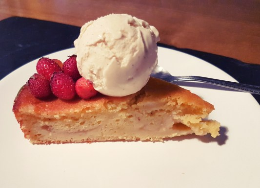 Gâteau à la compote 苹果泥蛋糕