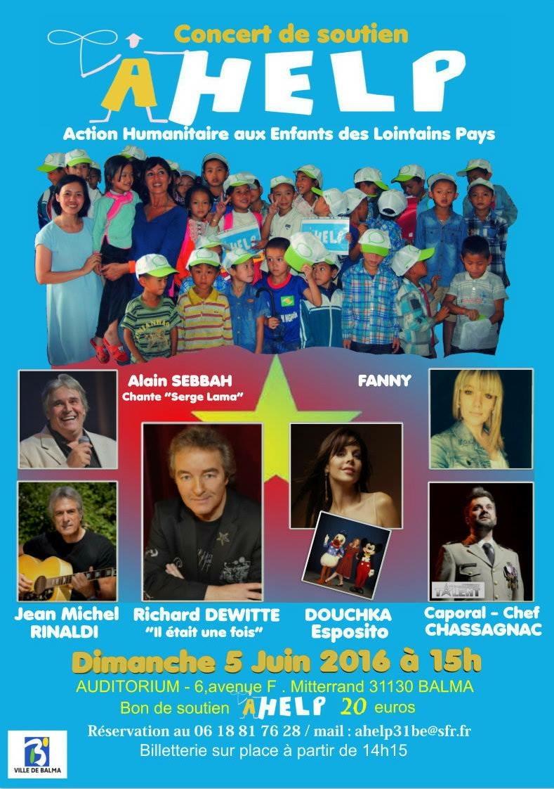 affiche concert Hummanitaire 5 ;06;2016