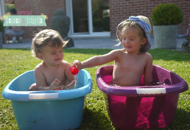 Bassine piscine bébé