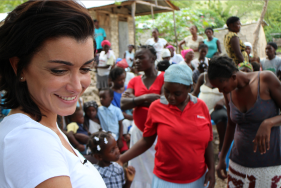 Pampers Unicef Jenifer Haiti