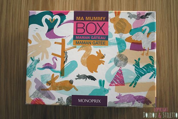 La mummy box Monoprix