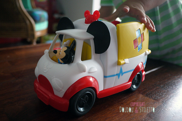 Camion premier secours fisher price