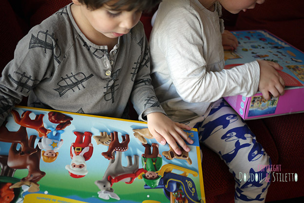 Calendrier avent Playmobil