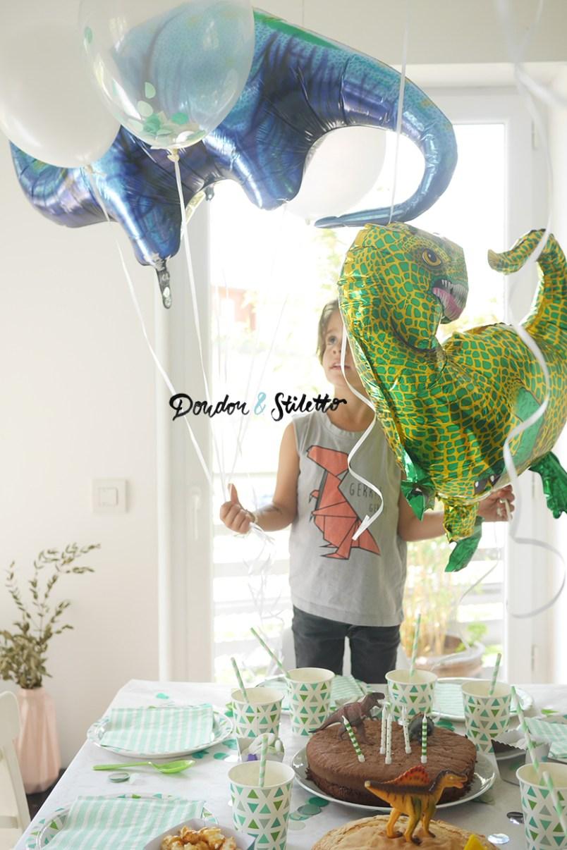 Anniversaire dinosaure