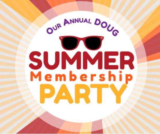 Summer Membership Party – Thursday, September 14th