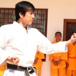 驚き!空手家、中達也が中国少林寺で演武!Karate Master in Shaolin Temple