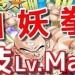 [ドッカンバトル#485]手数が凄い!!!!四妖拳技Lv.Max使ってみました!!