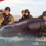 【GoPro撮影で臨場感がすごい】陸上自衛隊&米海兵隊のゾディアックボートでの海岸上陸訓練:アイアンフィスト2018