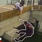 【爆笑】度胸試ししたら一人落ちた。笑 ハプニング映像まとめ【Video Pizza】