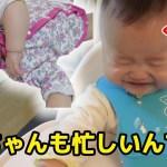 りんご食べたらすごい反応する赤ちゃん