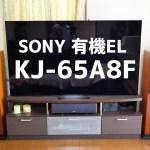 【有機EL】SONY最強のテレビはどんな感じ!?音にびっくり KJ-65A8F