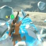 氷柱に乗って足元に片手剣を投げると面白いと聞いて