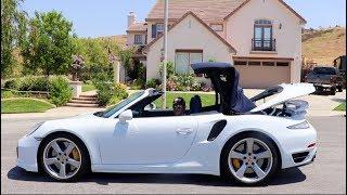 ポルシェ911ターボSを試乗したら驚きの加速力で好きになってしまった!Porsche 911 Turbo S Cabriolet Steve's POV スティーブ的視点
