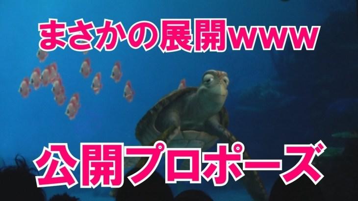 【神回】みんなビックリ!質問したら、まさかの公開プロポーズにwww アリエル?人魚の姿にクラッシュ衝撃ww タートルトーク 東京ディズニーシー