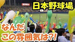 海外の反応 マジすごい!?「日本の野球場」その素晴らしい雰囲気にびっくり仰天!「我々もこうなって欲しい」