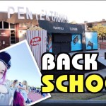 [美國Vlog] 重返高中、小學很感動!逛超刺激萬聖節快閃店 Back To School  | 沛莉 Peri