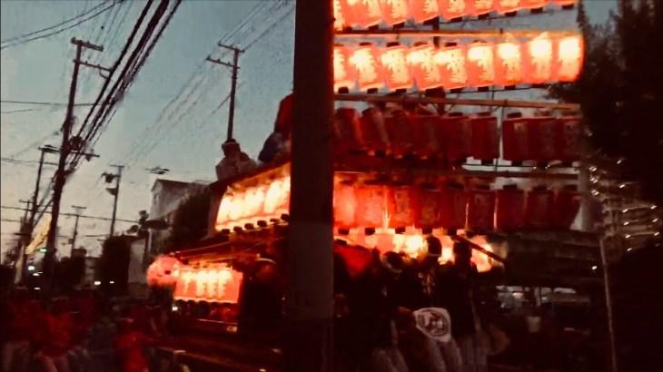 平成30年度 だんじり祭り事故、ハプニング集