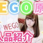 【プチプラ】最近のWEGOがスゴイ♡冬物アイテム購入品紹介♡【原宿WEGO】