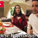 和食でおもてなし!ベジタリアンカップルが精進料理に感動!Japanese Vegetarian Food!