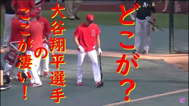 ~蔵出し厳選~ ここが凄い!【大谷翔平選手】Shohei Ohtani【Batting Practice】