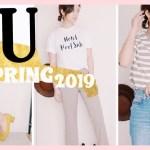 [ GU 新作春服購入品紹介♡ ] カジュアルで大人可愛い春物♡